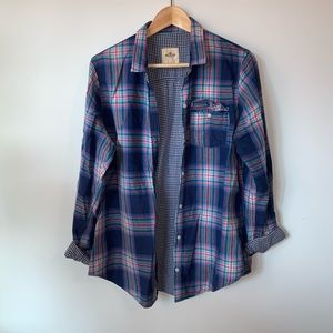 💐3/$50 Hollister Oversized Plaid Shirt